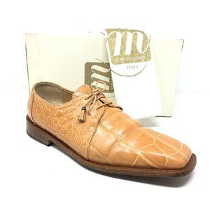 Mauri Oxfords Shoes Size 14 Orange Full Alligator